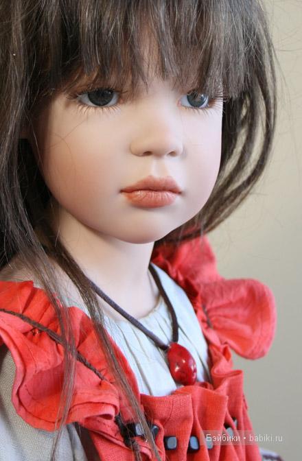 Коллекционка кукла Julka  von Zawieruszynski 2009