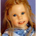 Коллекционная кукла Carole  от Julie Ann Fischer