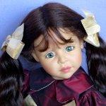 Юбилейная кукла к юбилею: Marcelle от Joke Grobben