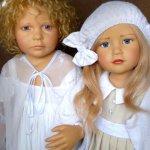 Куклы луизаот Philip Heath и Мисс Лили от Tara Heath