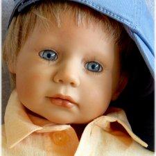 Коллекционная кукла  Макс Max от Brigitte Paetsch фирмы Zapf Creation 2001