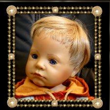 Коллекционная кукла Til от Bettine Klemm и фирмы Zapf Creation