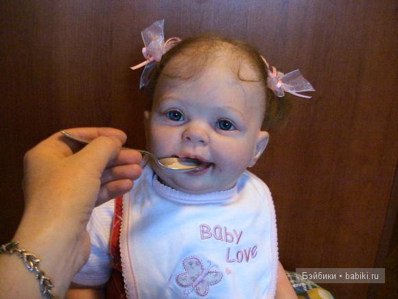 Моя маленькая - большая девочка. Кукла реборн Светланы Дрокиной