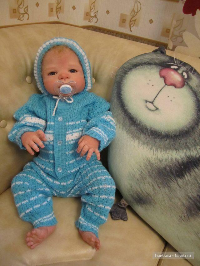 Малыш Игорёшенька-куклы реборн Инны Богдановой.
