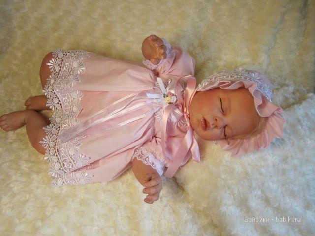 Малышка сплюшечка Светланка-куклы реборн Инны Богдановой.