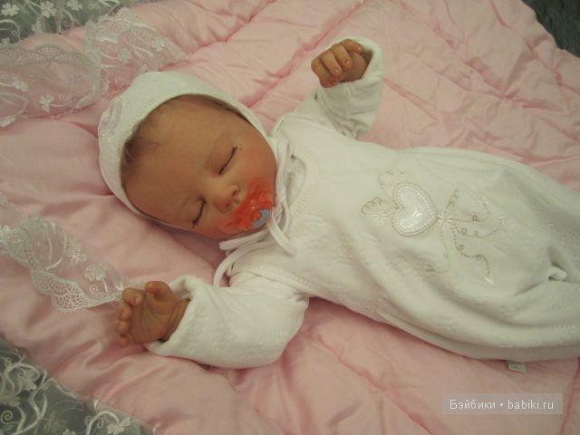 Малышка Сонечка-куклы реборн Инны Богдановой.
