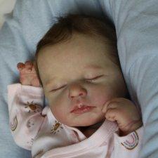 Малышка Лу Лу... куколка реборн Виктории Вишни