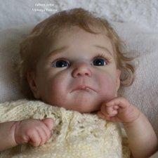 Малышка Даклин 2... куколка реборн Виктории Вишни