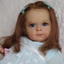 Мегги... куколка реборн Виктории Вишни