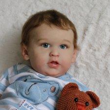 Малыш Ли... куколка реборн Виктории Вишни
