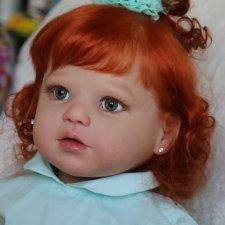 Солнышко Лили... куколка реборн Виктории Вишни