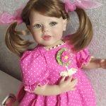 Редкая девочка от Artista doll, молд Донны Руберт.