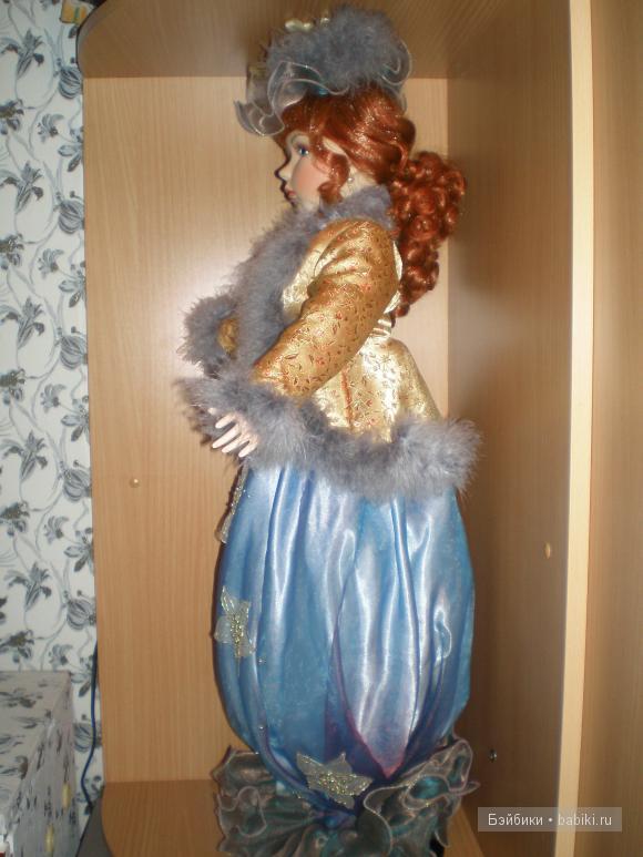 Фарфоровая кукла Ремеко
