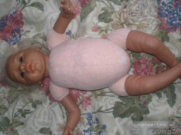 Кируся - домашние фото куклы реборн