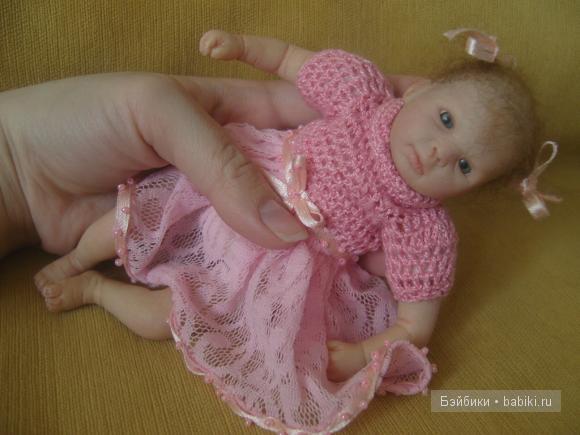 Новое платье мини-реборн