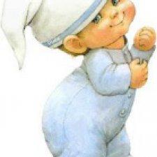 Шьем вместе. Текстильного младенца. Часть 3. Глазки, лобик