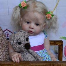 Кукла реборн Lena