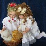 """Красоты много не бывает.Редкие коллекционные куклы американского автора Cheri McAfooes for Lloyd Middleton.""""...рыжий кот...белый кот..."""""""