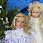 Редкие коллекционные куклы Cheri McAfooes for Lloyd Middleton