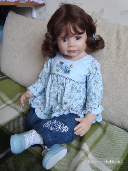 Знакомьтесь - Катерина! Коллекционная кукла Надя от Моники Левениг