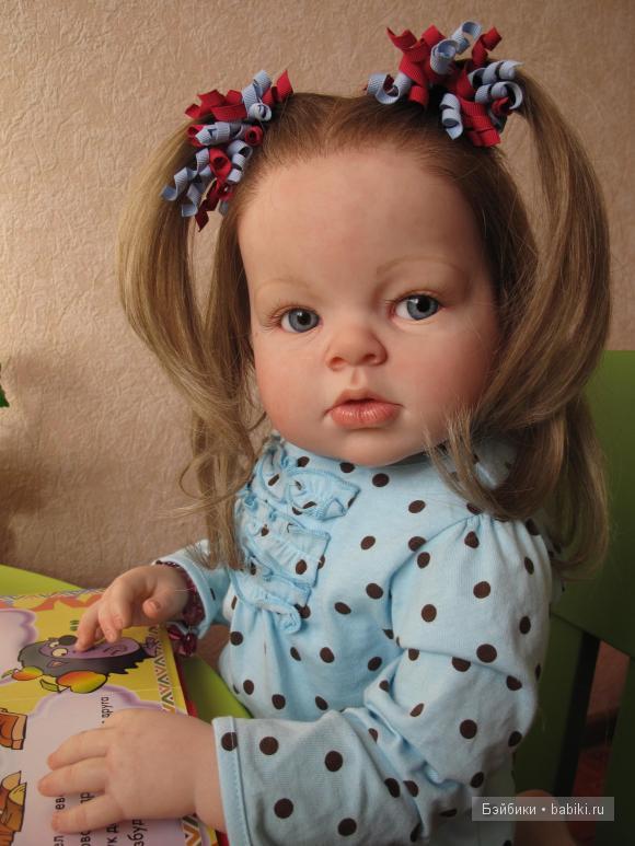 кукла реборн Вики Бард