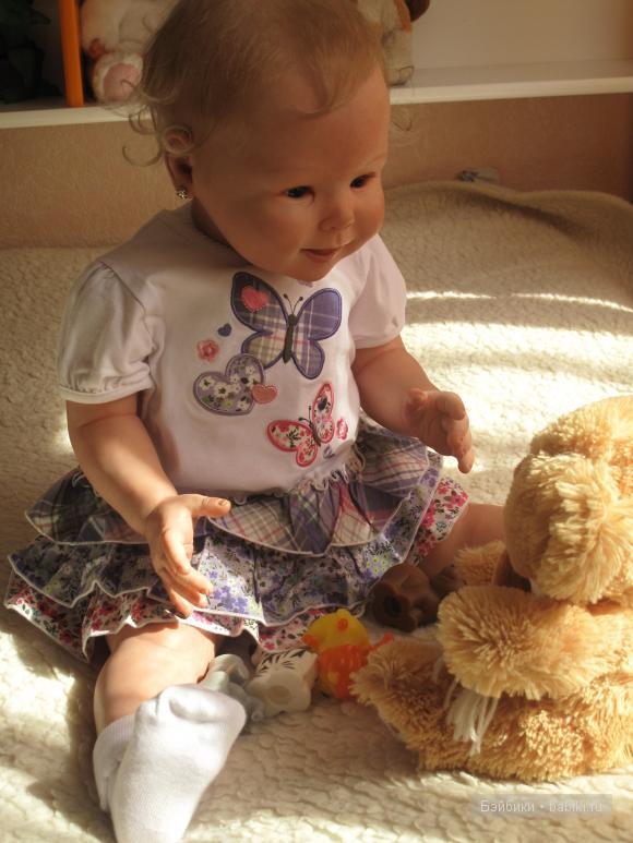 кукла реборн Виктории Бард Кристалетта