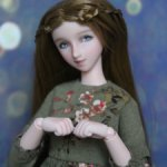 Шарнирная кукла волкс/обитсу volks obitsu ООАК в одежде