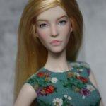 Модельная кукла MengF 1/6 ООАК нюд
