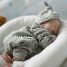 Арсений. Младенец ООАК Ольги Соколовой