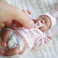 Эмили. Авторская кукла-младенец Ольги Соколовой