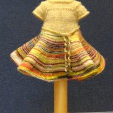 Платье для кукол PukiFee, Lati Yellow