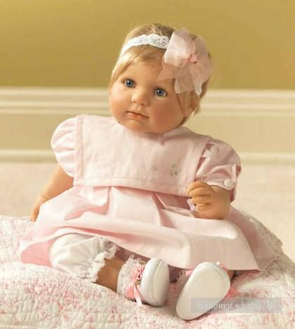 А у меня новенькая - кукла Daddy's Little Girl Berenguer