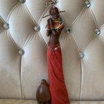 Статуэтка  девушка племени Масаи