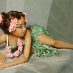 Тропиканка. Авторская кукла Елены Коноваловой