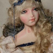 Мои авторские куклы болтушки или будуарная кукла