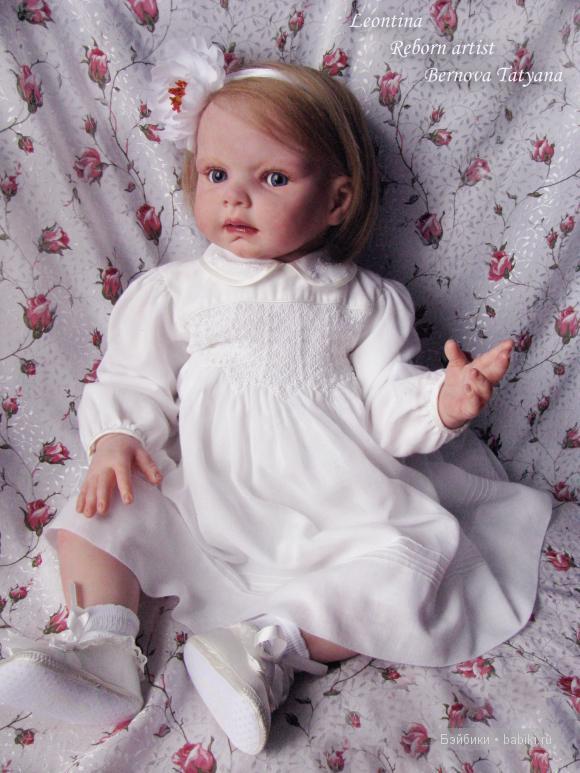 Лентина, кукла - реборн Берновой Татьяны
