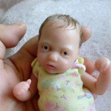 Анна, силиконовая малышка