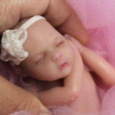 Полностью силиконовая малышка Аврора от Берновой Татьяны ,добавила фото