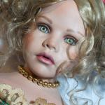 Из королевской гостинной к вам в гости. Кукла Дамри  Бенингховен из бисквитного порцелана