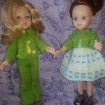Комплект одежды на кукол Паола Рейна