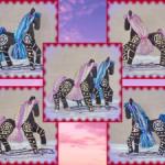 Сказочные лошадки Утренняя Заря и Звёздный Свет
