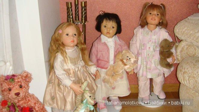 Реальность и волшебство кукол фрау Гюнзель. Коллекция кукол Hildegard Gunzel