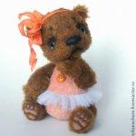 Мишка-тедди Ниночка от Светланы Черн (возможен торг)