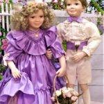 Лавандовая парочка Мелани и Мэттью (377.1)