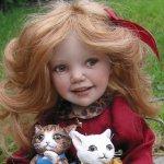 Самая моя дорогая кукла в единсвенном экземпляре от Jane Bradbury. Малышка Кити