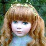 кукла фарфоровая коллекционная Эсмиральда от Линды Мэйсон (Linda Mason)