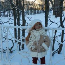 Прогулка Рейчел в Екатерининском парке