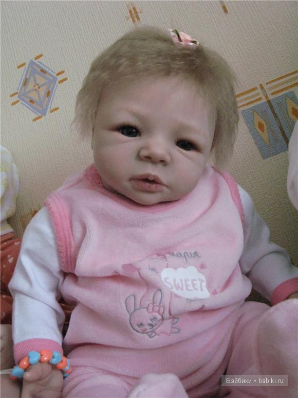 Кукла реборн Валентины Дерезюк.