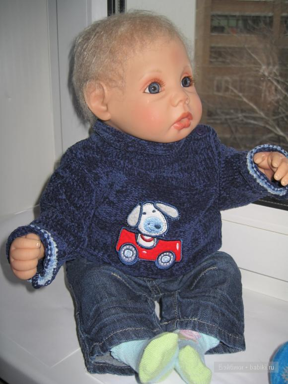 Коллекционная кукла Марио от Герлинде Фезер
