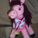 Вязаная лошадка, авторская игрушка своими руками Елены Хомутовой